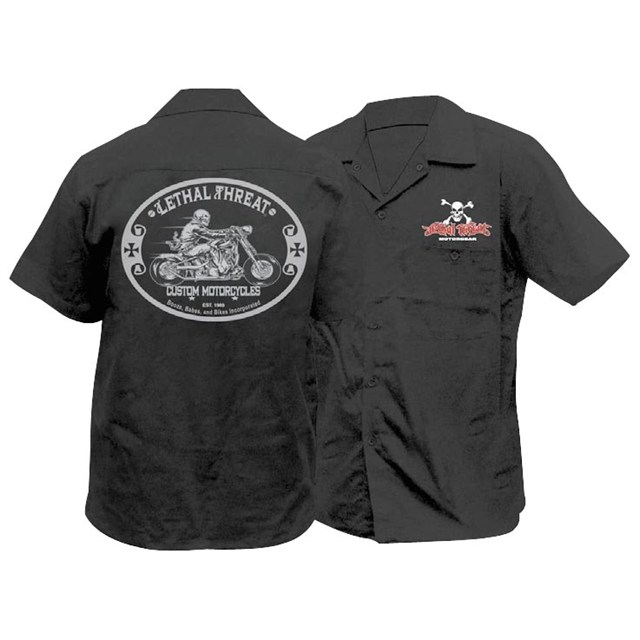 Lt Custom Motorcycle Work Shirt Cheap Cycle Parts