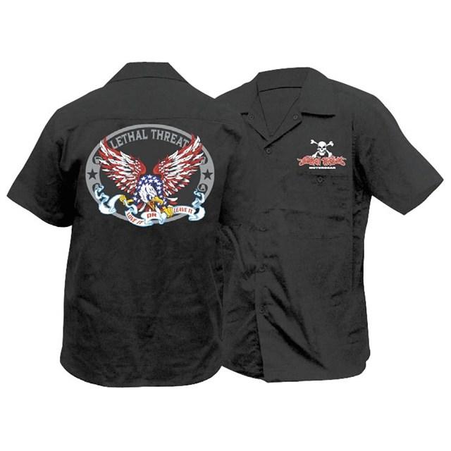 Usa eagle work shirt webb powersports for Usa made work shirts