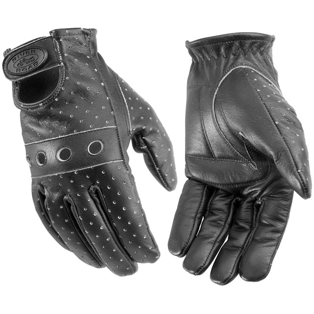 Yamaha Leather Snowmobile Gloves