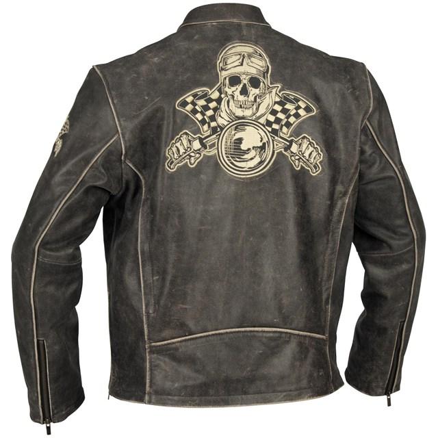 Vintage Leather Racing Jacket - Jacket