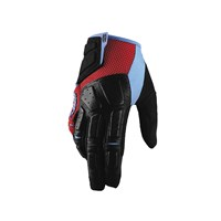 Simi Gloves Red/Cyan