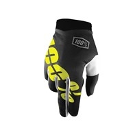 iTrack Youth Gloves Black/Yellow