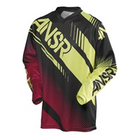 Syncron Jersey Black/Red/Acid