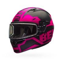 Qualifier Snow - Matte Pink/Black Dual Shield