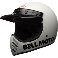 Moto-3 - Gloss White Classic