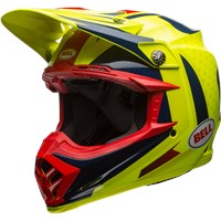 Moto-9 Flex - Gloss Blue/Yellow/Red Vice
