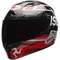 Qualifier DLX - Isle Of Man 17.0 Gloss Black/Red