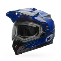 MX-9 Adventure Snow - Matte/Gloss Blue Electric Shield