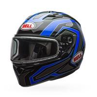 Qualifier Snow - Reflective Blue Dual Shield