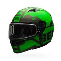 Qualifier Snow - Matte Green/Titanium Dual Shield