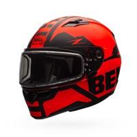 Qualifier Snow - Matte Orange/Black Dual Shield