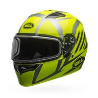 Qualifier Snow - Blaze Yellow/Titanium Dual Shield