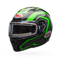 Qualifier Snow - Reflective Green Electric Shield