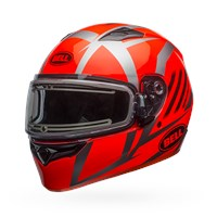 Qualifier Snow - Blaze Titanium/Orange Electric Shield