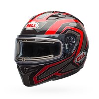 Qualifier Snow - Reflective Red Electric Shield