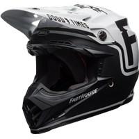 Moto-9 MIPS - Fasthouse Gloss/Matte Black/White