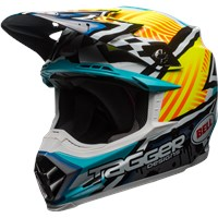 Moto-9 MIPS - Tagger Gloss Yellow/Blue/White Assymetric