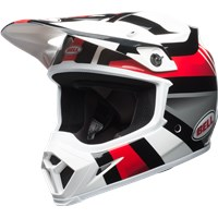 MX-9 MIPS - Gloss White/Black/Red Marauder