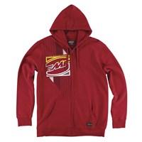 Crashbox Zip Hoody Red