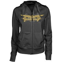 Ladies Gold Wing Posh Zip Hoody