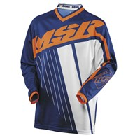 Axxis Jersey Navy/Orange/White