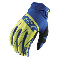 Axxis Youth Gloves Blue/White/Green