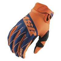 Axxis Youth Gloves Navy/Orange/White