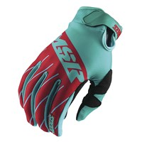 Axxis Youth Gloves Red/Teal/White