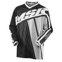 Axxis Youth Jersey Black/White/Grey