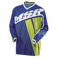 Axxis Youth Jersey Blue/White/Green