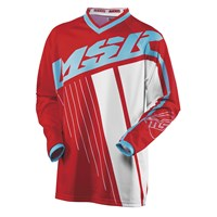 Axxis Youth Jersey Red/Teal/White