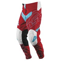 Axxis Youth Pants Red/Teal/White