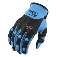 Impact Gloves Black/Cyan