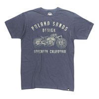 Indian Shop Tee Indigo