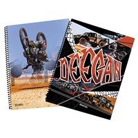 Brian Deegan 5x7 Spiral Notebooks