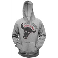 Bull Headed Grey Hoody