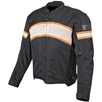 Cruise Missile™ Textile and Leather Jacket