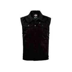 Bell Graham Black Denim Vest