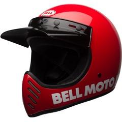 Moto-3 - Gloss Red Classic