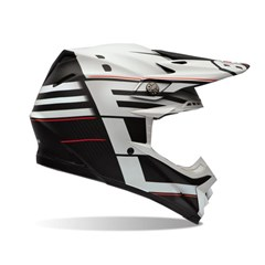 Moto-9 Carbon Flex Blocked Helmet