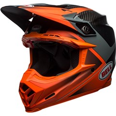 Moto-9 Flex - Glass/Matte Orange/Charcoal Hound