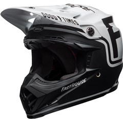 Moto-9 MIPS - Fasthouse Gloss/Matte Black/White