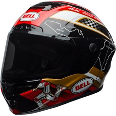 Star MIPS - Isle Of Man 18 Gloss Black/Gold