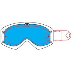 Replacement Tear Offs for Vendetta Snow Goggles
