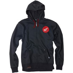 Honda Badge Unlined Zip-Up Hoodies