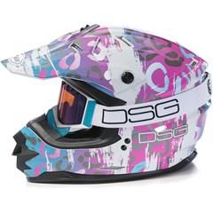 DSG GM76X Leopard Helmet