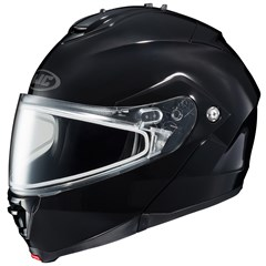 IS-Max II Solid Snow Helmets with Dual Lens Shield