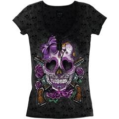 Burnout D.O.D. Gun Womens T-Shirts
