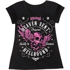 Heaven Sent V-Neck Womens Shirts