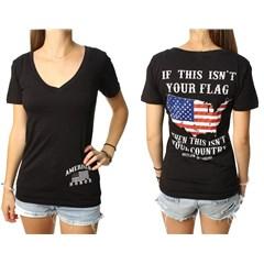 American Honor Womens V-Neck T-Shirts